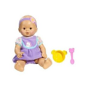 FISHER PRICE LITTLE MOMMY BABYS BIG DAY PURPLE