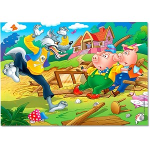 FRANK THE THREE LITTLE PIGS PUZZLE