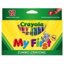 CRAYOLA MY FIRST JUMBO CRAYONS
