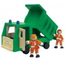 WOODEN TIPPING DUMP TRUCK