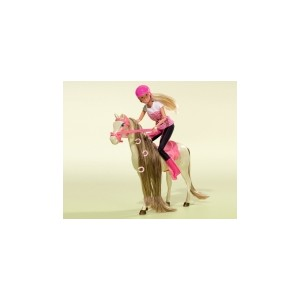 STEFFI RIDING TOUR DOLL AND HORSE