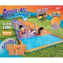 AQUA RIDE DOUBLE WATER SLIDE