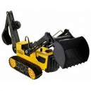 TONKA TOUGH TRENCHER BACKHOE
