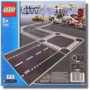LEGO CITY 7280 STRAIGHT AND CURVE BASE PLATE