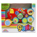 GIGGLES WOODEN PUSH N GO ELEPHANT