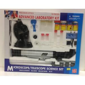 MICROSCOPE AND TELESCOPE KIT