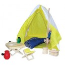 DOLL HOUSE FURNITURE CAMPING SET