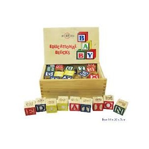 EDUCATIONAL BLOCKS 48 PIECES
