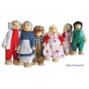 DOLL FAMILY WOODEN
