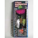BADMINTON SET 4 PLAYER