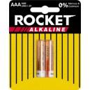 ROCKET ALKALINE AAA BATTERIES 2 PACK