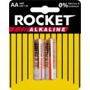 ROCKET ALKALINE AA BATTERIES 2 PACK