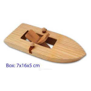 PADDLE BOAT WOODEN