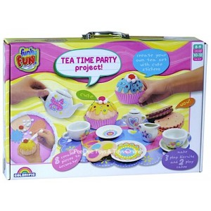 FUNKY FUN TEA TIME PARTY PROJECT
