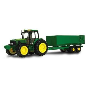JOHN DEERE BIG FARM TRACTOR WITH WAGON