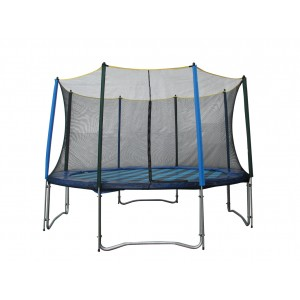 TRAMPOLINE 14FT WITH ENCLOSURE