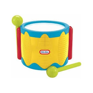 LITTLE TIKES TAP A TUNE DRUM