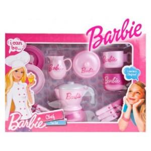 BARBIE I CAN BE CHEF TEA SET