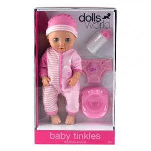 DOLLS WORLD BABY TINKLES