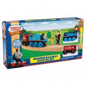 THOMAS AND FRIENDS WOODEN RAILWAY STARTER SET