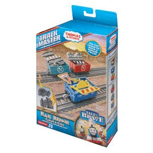 THOMAS AND FRIENDS TRACKMASTER RAIL REPAIR CARGO AND CARS - Toyland