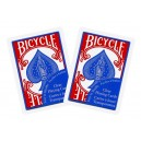 BICYCLE CLEAR BLUE SPADE POKER