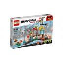 LEGO THE ANGRY BIRDS MOVIE 75824 PIG CITY TEARDOWN