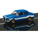 SCALEXTRIC FORD ESCORT MK 1 BLUE WHITE