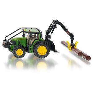 SIKU 4063 JOHN DEERE FORESTRY TRACTOR