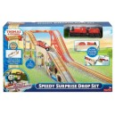 THOMAS AND FRIENDS WOODEN RAILWAY SPEEDY SURPRISE DROP SET