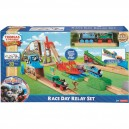 THOMAS AND FRIENDS WOODEN RAILWAY RACE DAY SET