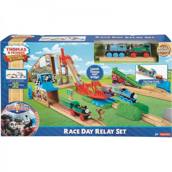 Thomas And Friends Wooden Railway Race Day Set Toyland Australia