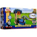 THOMAS AND FRIENDS WOODEN RAILWAY COAL HOPPER FIGURE 8 SET
