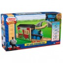 THOMAS AND FRIENDS WOODEN RAILWAY UP AND AROUND SET