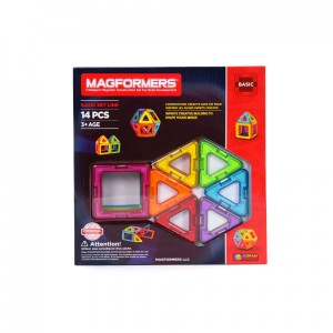 MAGFORMERS BASIC SET LINE 14PCS