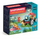 MAGFORMERS MOUNTAIN JUNGLE ADVENTURE SET