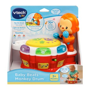 VTECH BABY BEATS MONKEY DRUM