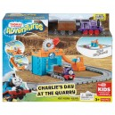 THOMAS AND FRIENDS CHARLIE'S DAY AT THE QUARRY