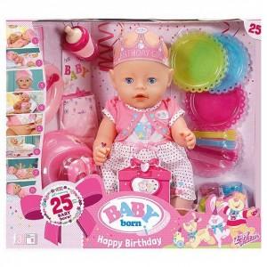 BABY BORN INTERACTIVE DOLL HAPPY BIRTHDAY