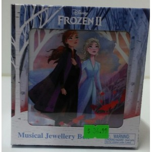 FROZEN 2 ANNA AND ELSA'S MUSICAL JEWELLERY BOX