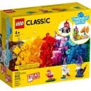 LEGO 11013 CREATIVE TRANSPARENT BRICKS