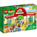DUPLO 10951 HORSE STABLE AND PONY CARE