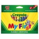 CRAYOLA MY FIRST JUMBO CRAYONS