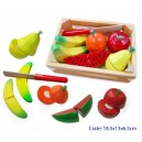 FRUIT CRATE WITH KNIFE