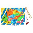 FISHING GAME MAGNETIC WITH RODS