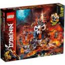 LEGO NINJAGO 70722 SKULL SORCERER'S DUNGEONS