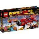 LEGO 80019 MONKIE KID'S RED SON'S INFERNO JET