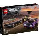 LEGO 76904 MOPAR DODGE//SRT TOP FUEL DRAGSTER AND 1970 DODGE CHALLENGER