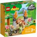 LEGO DUPLO 10939 JURASSIC WORLD T REX AND TRICERATOPS DINOSAUR BREAKOUT